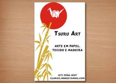 Cartão de Visita Tsuru Arte