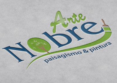 Logotipo Arte Nobre Paisagismo