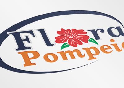 Logotipo Flora Pompéia